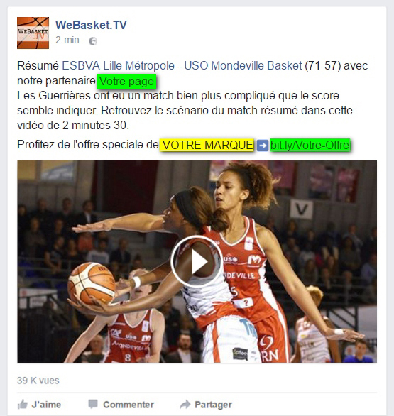 Mise en avant de votre marque sur Facebook